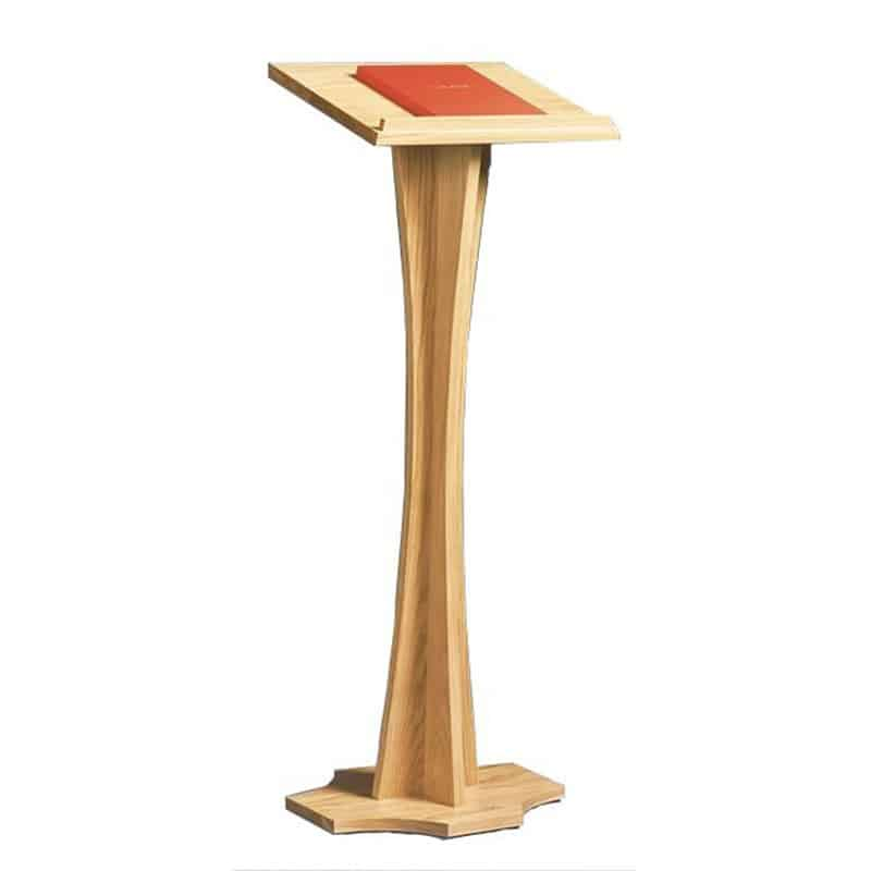 High Quality Solid Wood Lectern | Adjustable Oak Lectern