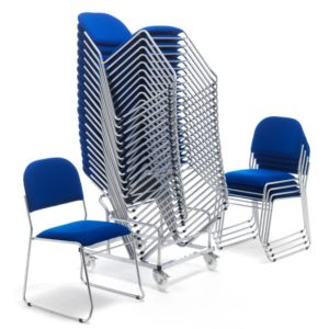 Urban Lightweight Stacking Chairs