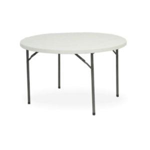 Lightweight Folding table Circular