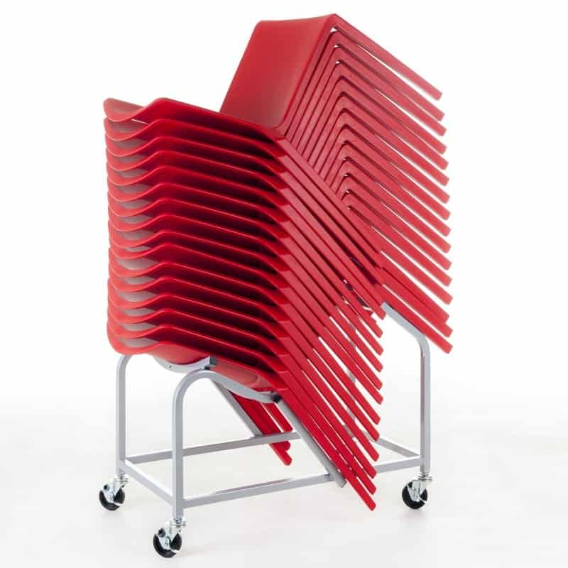 Plaza Stacking Chair One Piece Poly Rosehill Furnishings