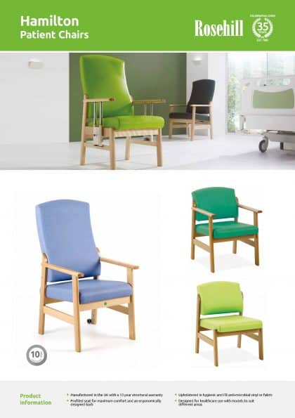 Hamilton Patient Chairs