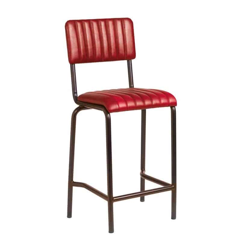 Core Mid Bar Stool Vintage Red