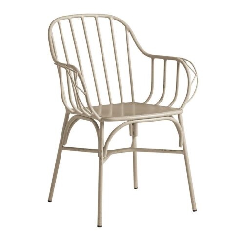 Denver Armchair Retro White