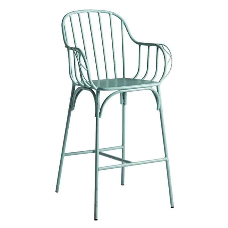 Denver Bar Stool Light Blue