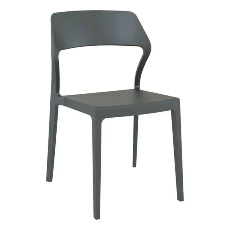 Snow chair dark grey