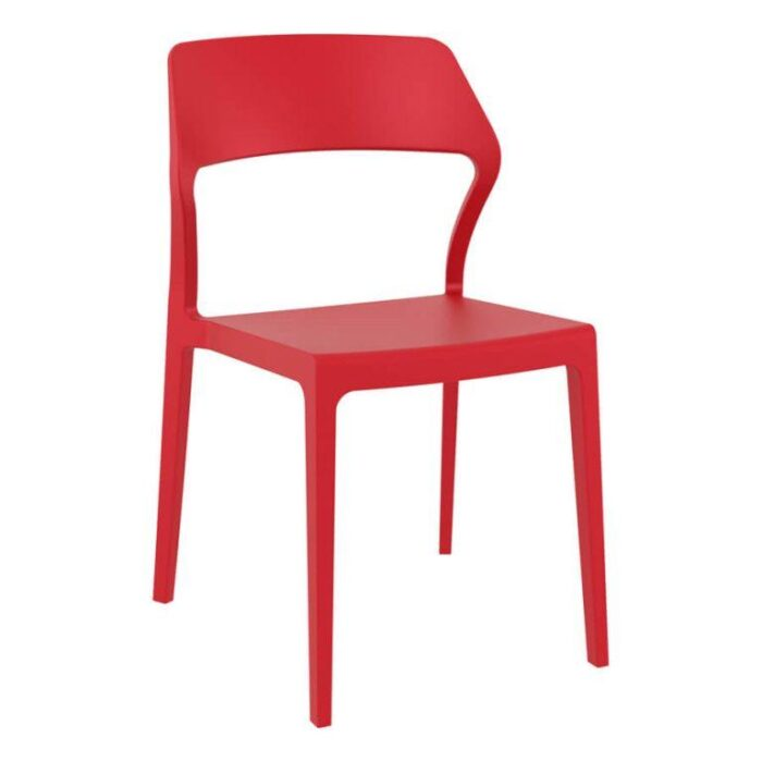 Snow Side Chair Red